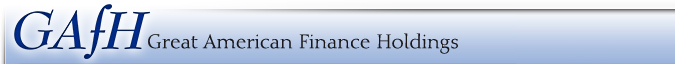 Great American Finance Company Logo